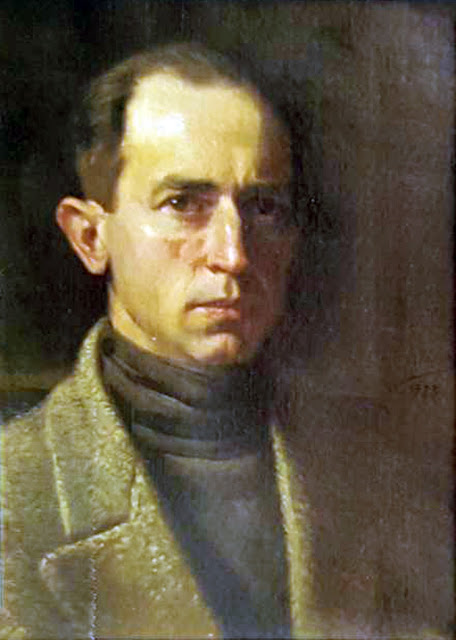 Antonio Fernández Gómez, Self Portrait, Portraits of Painters, Fine arts, Portraits of painters blog, Paintings of Antonio Fernández Gómez, Painter Antonio Fernández Gómez