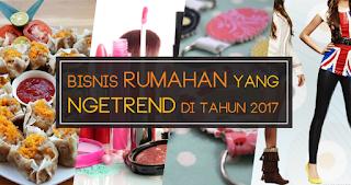 Ini Dia 6 Usaha Rumahan Yang Lagi Trend Di Kalangana Masyarakat Indonesia