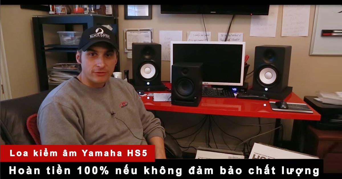 Đánh giá loa yamaha hs5