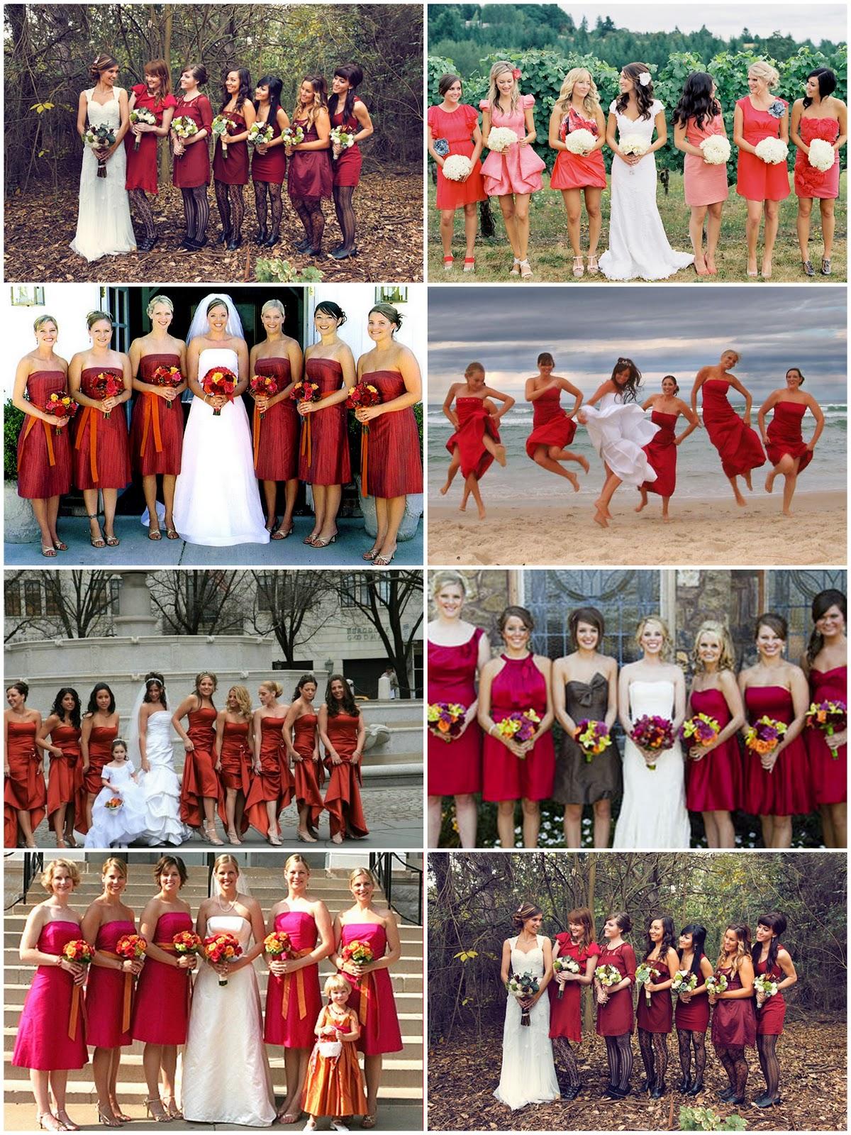 Elección Del Vestido De Las Damas De Honor Foro Organizar