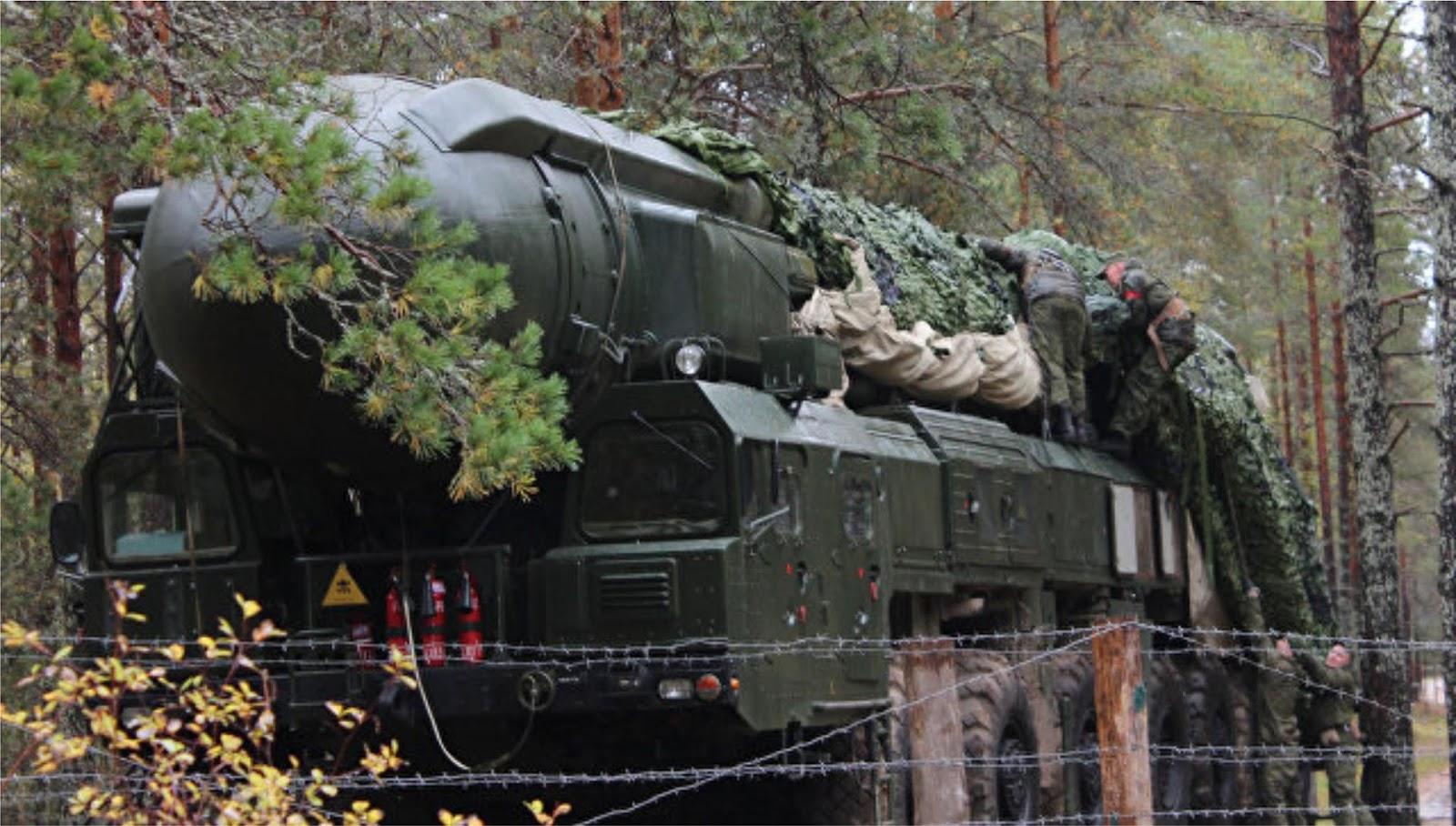 Taktik AS menakut-nakuti kemungkinan kalah dari Rusia dan Cina untuk persiapan perangnya sendiri