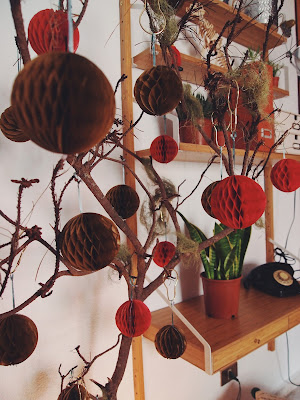 hacer un árbol de navidad original en casa y de estilo nórdico