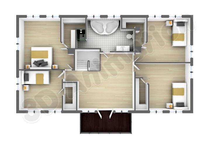 Indian Model House Plan Design