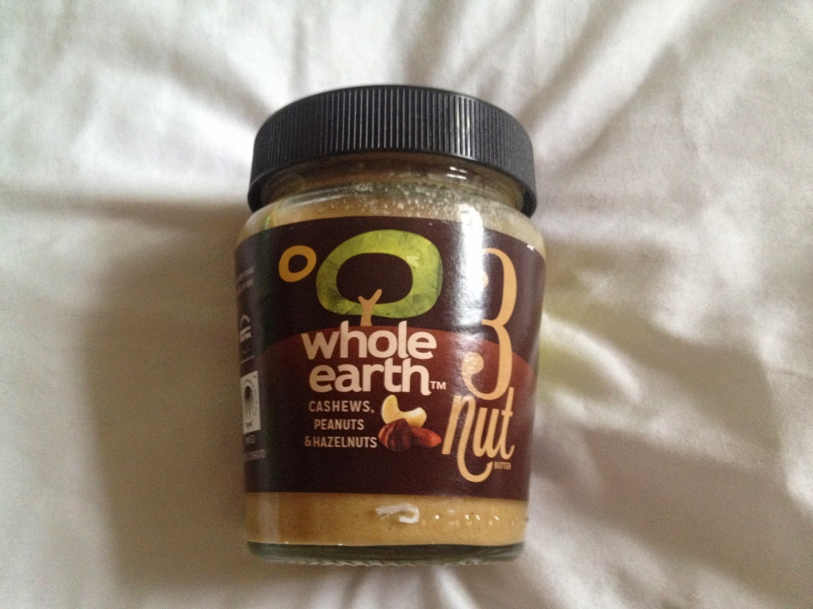 jar of healthy whole earth nut butter