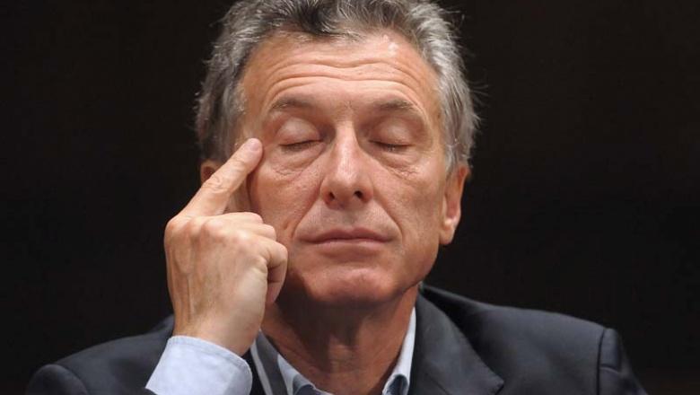 Mauricio Macri apagón