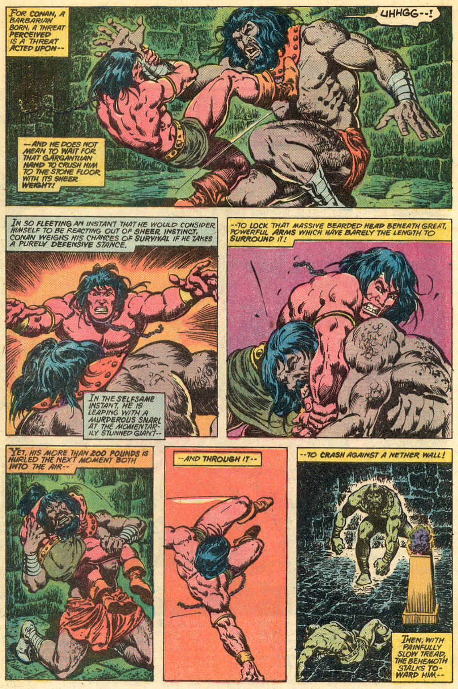 Conan the Barbarian (1970) Issue #77 #89 - English 3