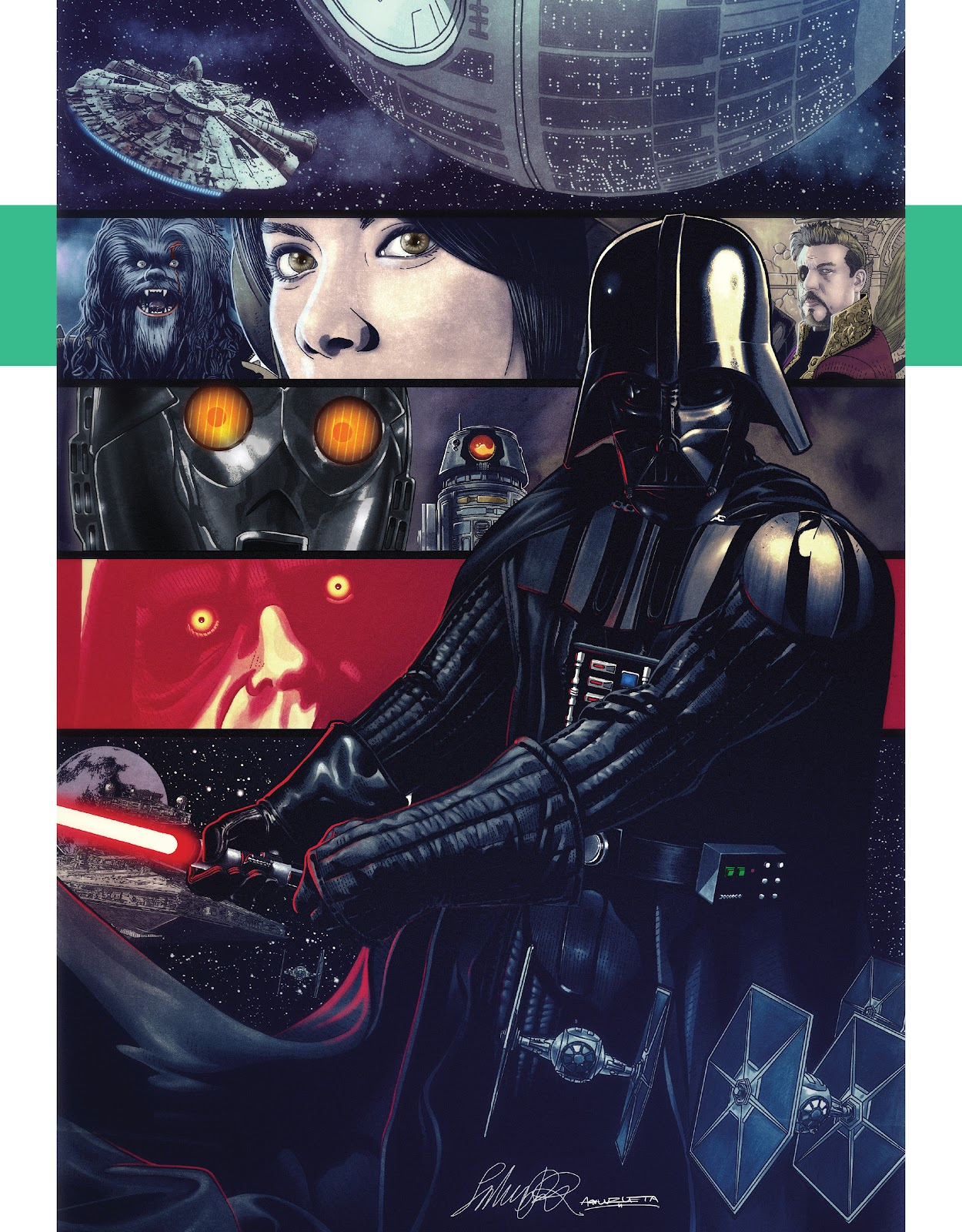 Read online The Marvel Art of Star Wars comic -  Issue # TPB (Part 1) - 49