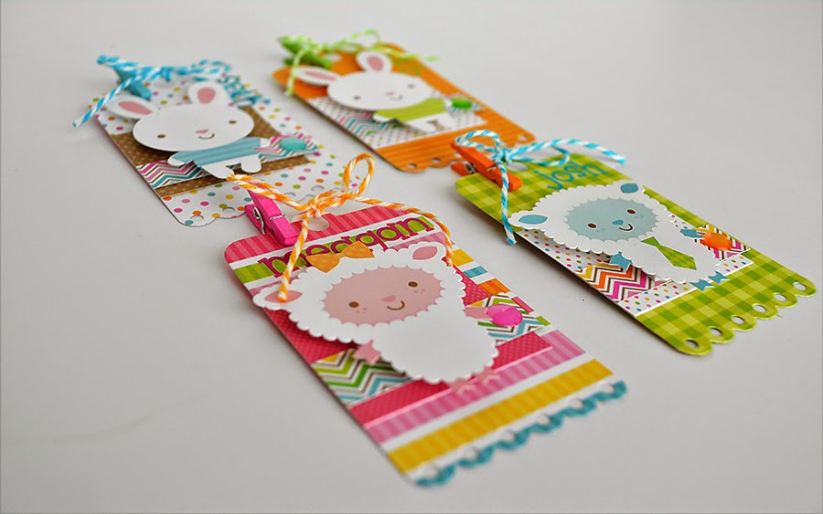 Doodlebug Design Inc Blog: Easter Basket ID Tags by Wendy Sue