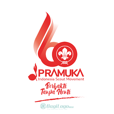 Logo Hari Pramuka ke-60 (2021) Vector