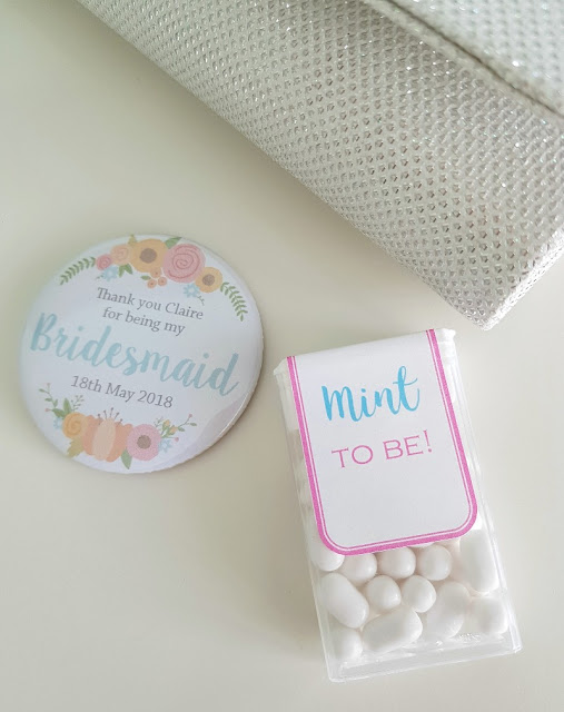 Cute mint to be tic tac labels for wedding gifts or favours