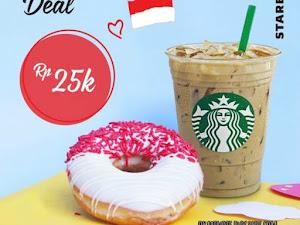 Promo Starbucks di Hari Kemerdekaan Indonesia ke 72