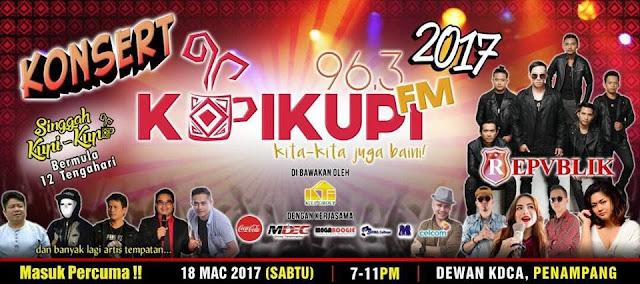 Konsert KupiKupi FM 2017