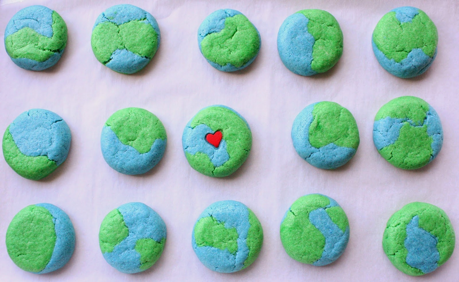 Image result for earth cookies