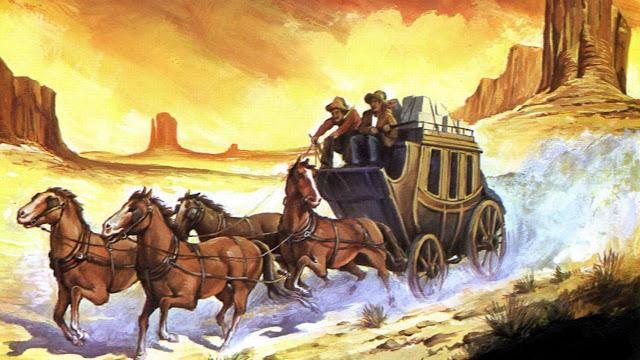 Resultado de imagen para Como el viejo oeste con la diligencia,