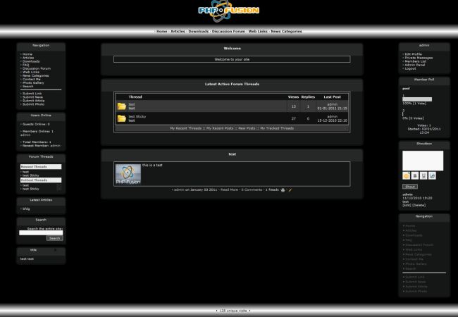 Metal forum php fusion themes template 2013 free download for Php forum templates free download