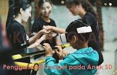Penggunaan gadget pada anak sd dan pengaruhnya bagi kepribadian