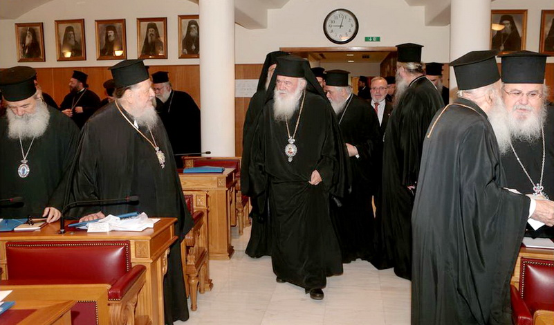 «Ιερή» οργή: Διάλογοι-φωτιά στη συνεδρίαση της Ιεράς Συνόδου