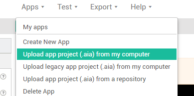 How to Import Thunkable aia file and Export as APK for Play Store Publishing