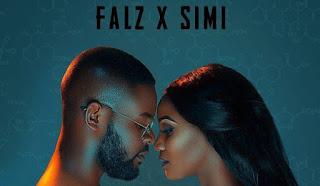 Falz and Simi Celebrates