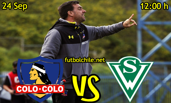 Ver stream hd youtube facebook movil android ios iphone table ipad windows mac linux resultado en vivo, online: Colo Colo vs Santiago Wanderers