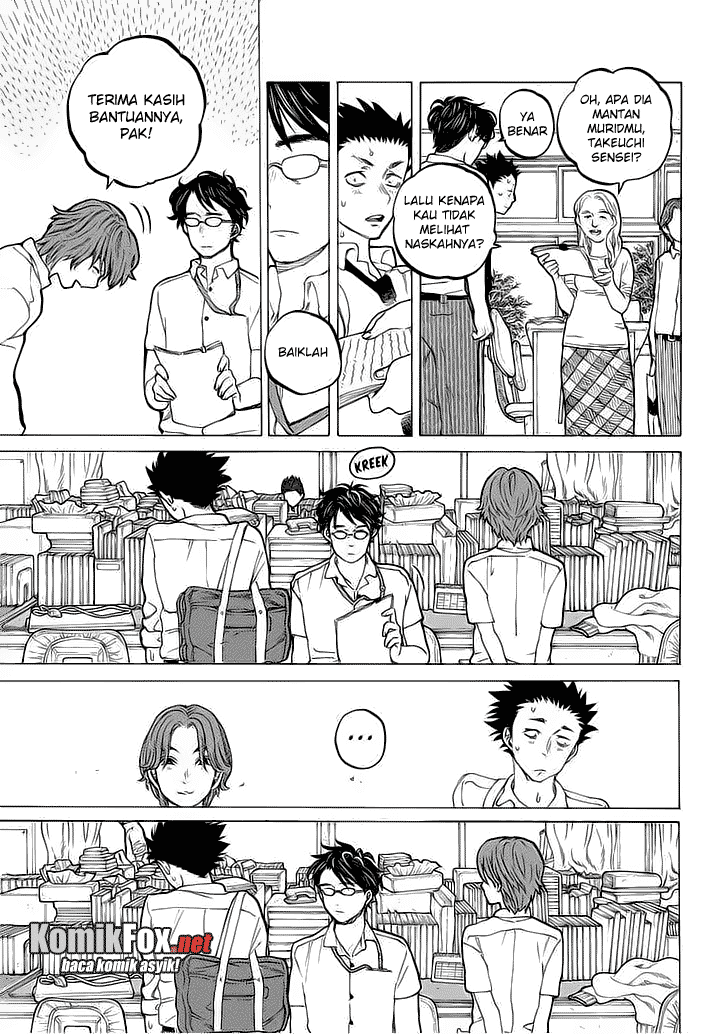 Koe no Katachi Chapter 35-4