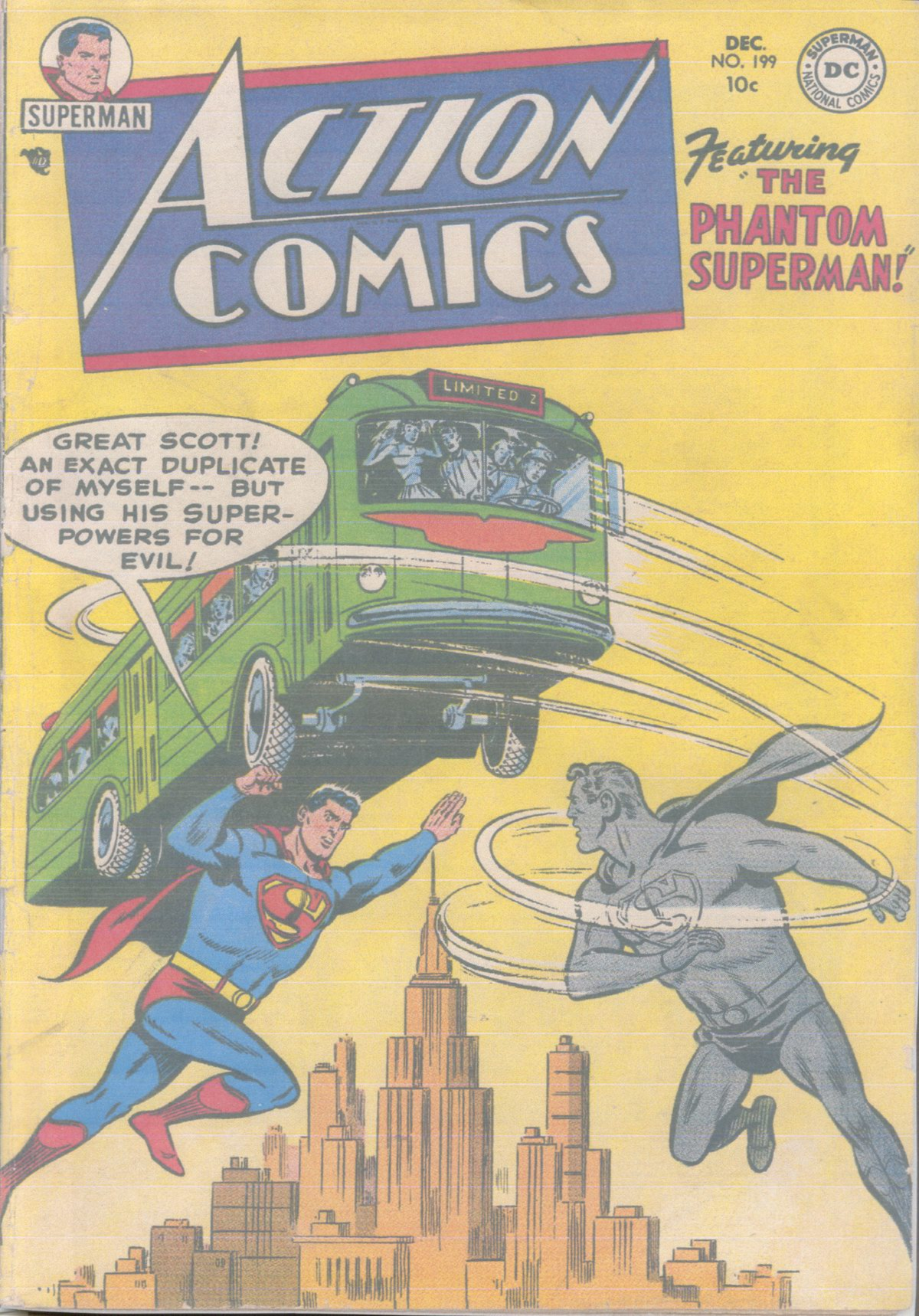 Read online Action Comics (1938) comic -  Issue #199 - 1