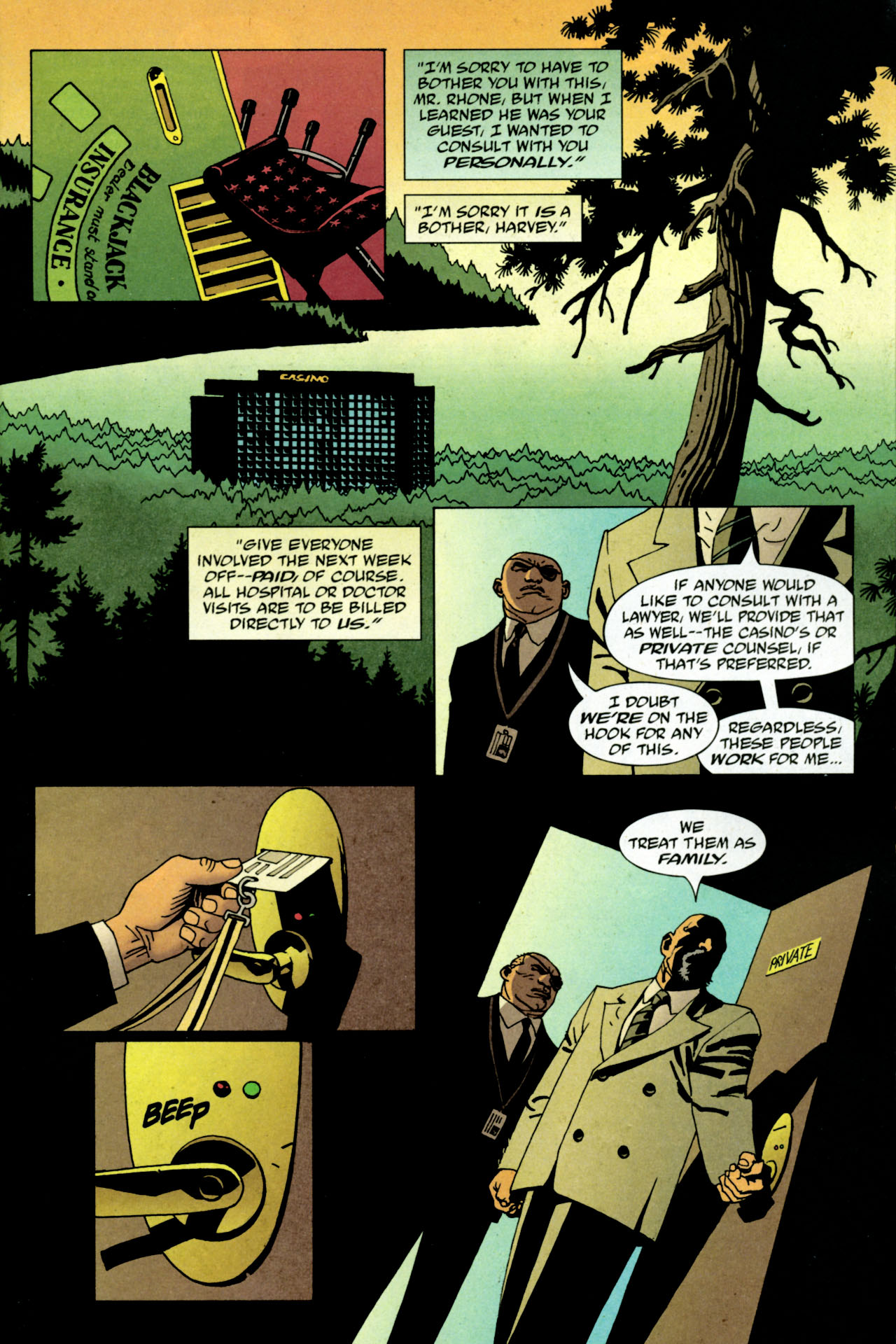 Read online 100 Bullets comic -  Issue #84 - 2