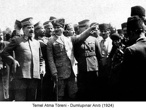 Atatürk Dumlupınar 1924 Fotoğraf