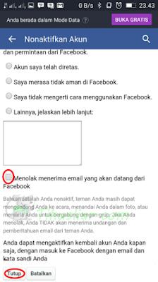 Cara Memblokir akun fb orang lain tanpa password