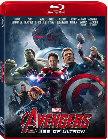 Poster Of Avengers: Age of Ultron 2015 English 150MB BRRip HEVC Mobile ESubs Watch Online Free Download Worldfree4u