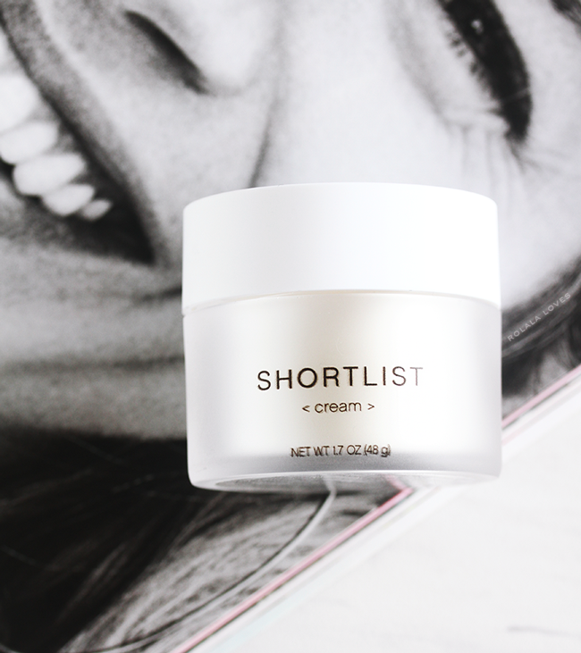 Shortlist Cream, Shortlist Beauty, Shortlist, Shortlist Serum, Shortlist Review, Shortlist Beauty Review, Less Is More Beauty, Shortlist Skincare