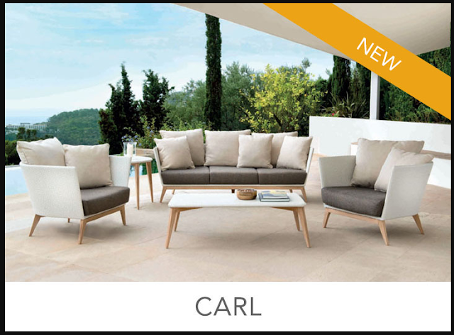 Jenis Sofa Outdoor Carl