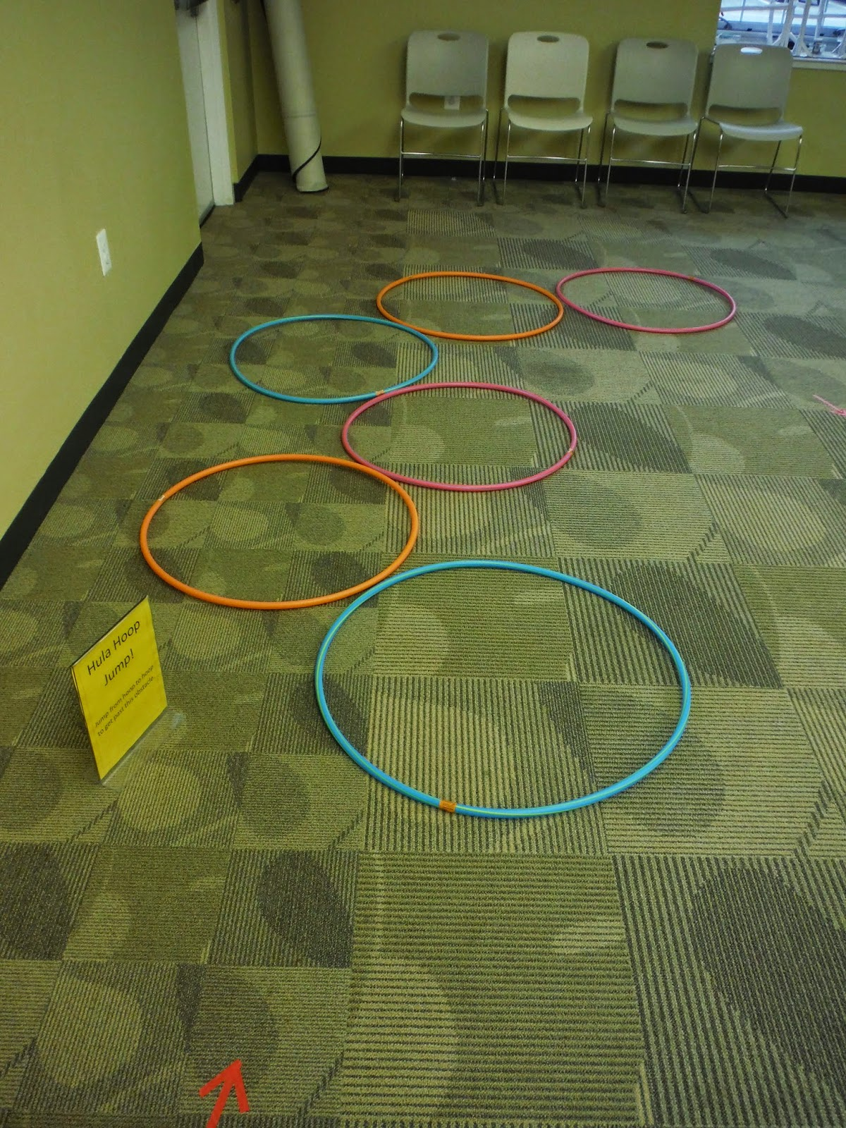 Library Lalaland Toddler Obstacle Course