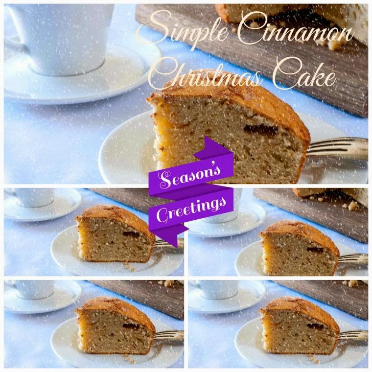 Simple Cinnamon Christmas Cake To Try Out Today