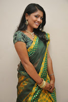 HeyAndhra Actress Anu Sri Photos in Saree HeyAndhra.com