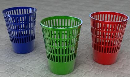 waste bin 3d model free