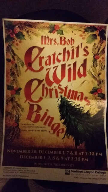 Mrs. Bob Cratchit's Wild Christmas Binge Santiago Canyon College Orange, CA