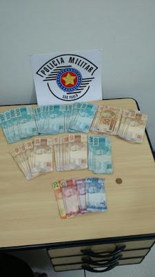 POLÍCIA MILITAR PRENDE CRIMINOSO QUE ROUBOU MERCADO EM ELDORADO-SP