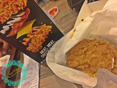 KFC, burger tanpa sayur, double down, KFC Jalan Baru, penutupan KFC Bandar Sunway, Petronas, Seberang Jaya, Salted Caramel Vanilla, ais krim KFC, sedap tak ais krim, salted caramel aiskrim yang sedap,
