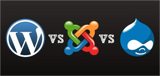 Differences between Joomla, Drupal and Wordpress CMS