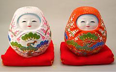 Omamori - Japanese Amulets: Kanazawa Hariko Dolls