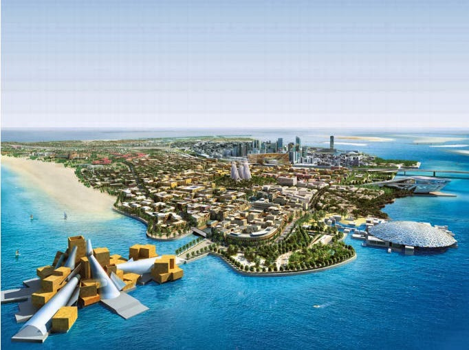 Saadiyat Island Bebauungsplan (C) TDIC