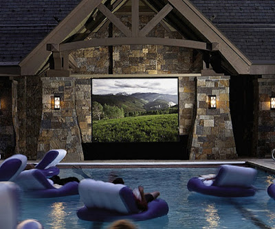 Pool and cinema