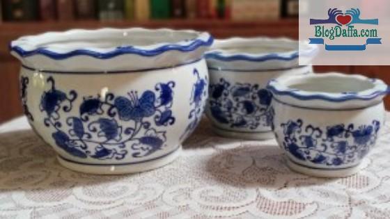 Jenis pot porselen dan karakternya