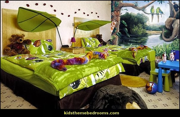 Decorating theme bedrooms maries manor jungle theme for Forest themed bedroom ideas