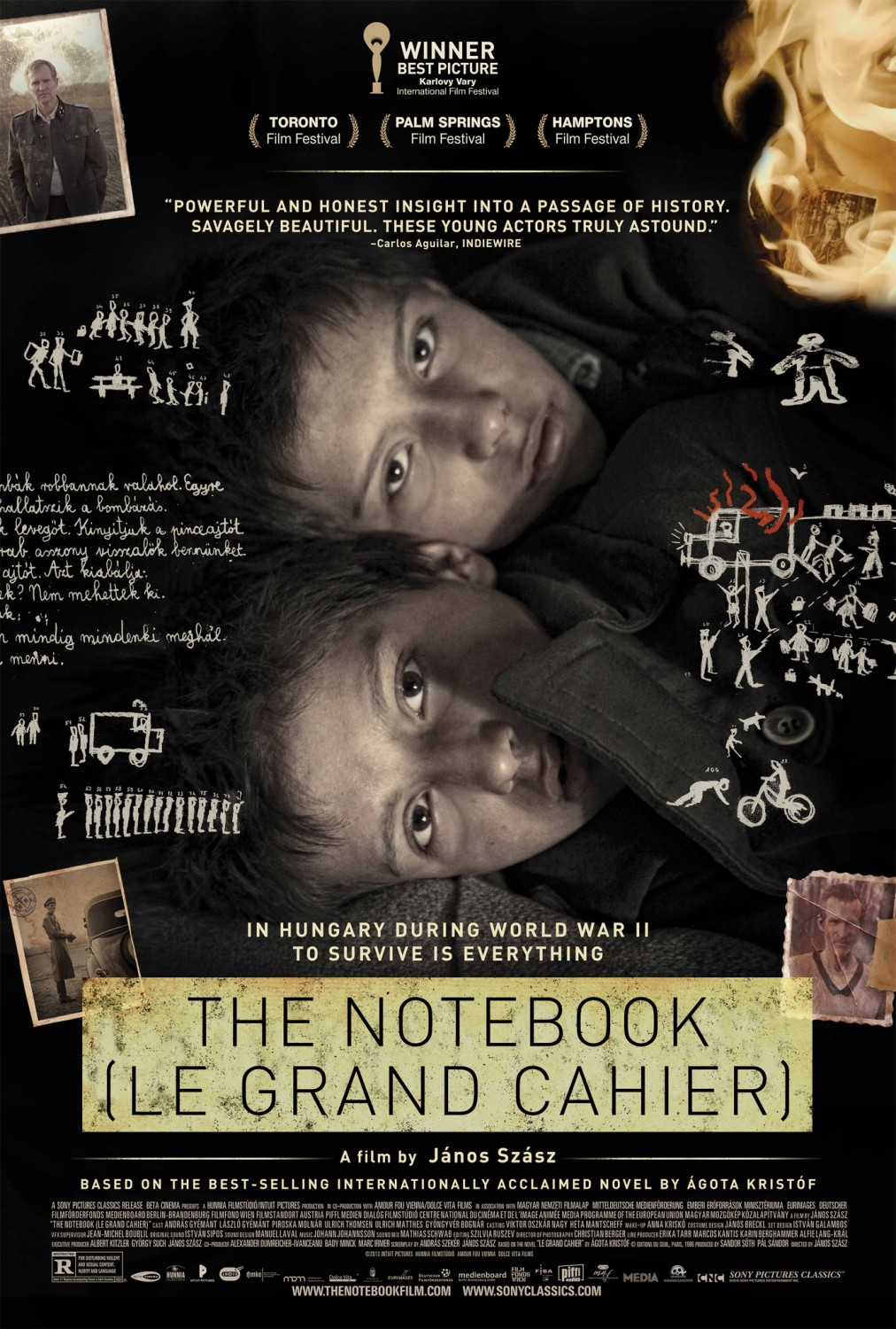 from the front row 2014 review the notebook
