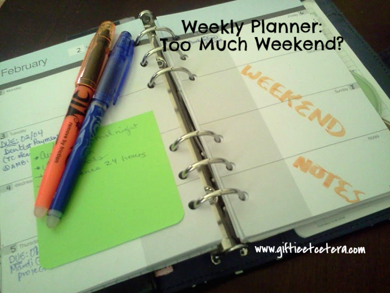 planner day planner weekly paper