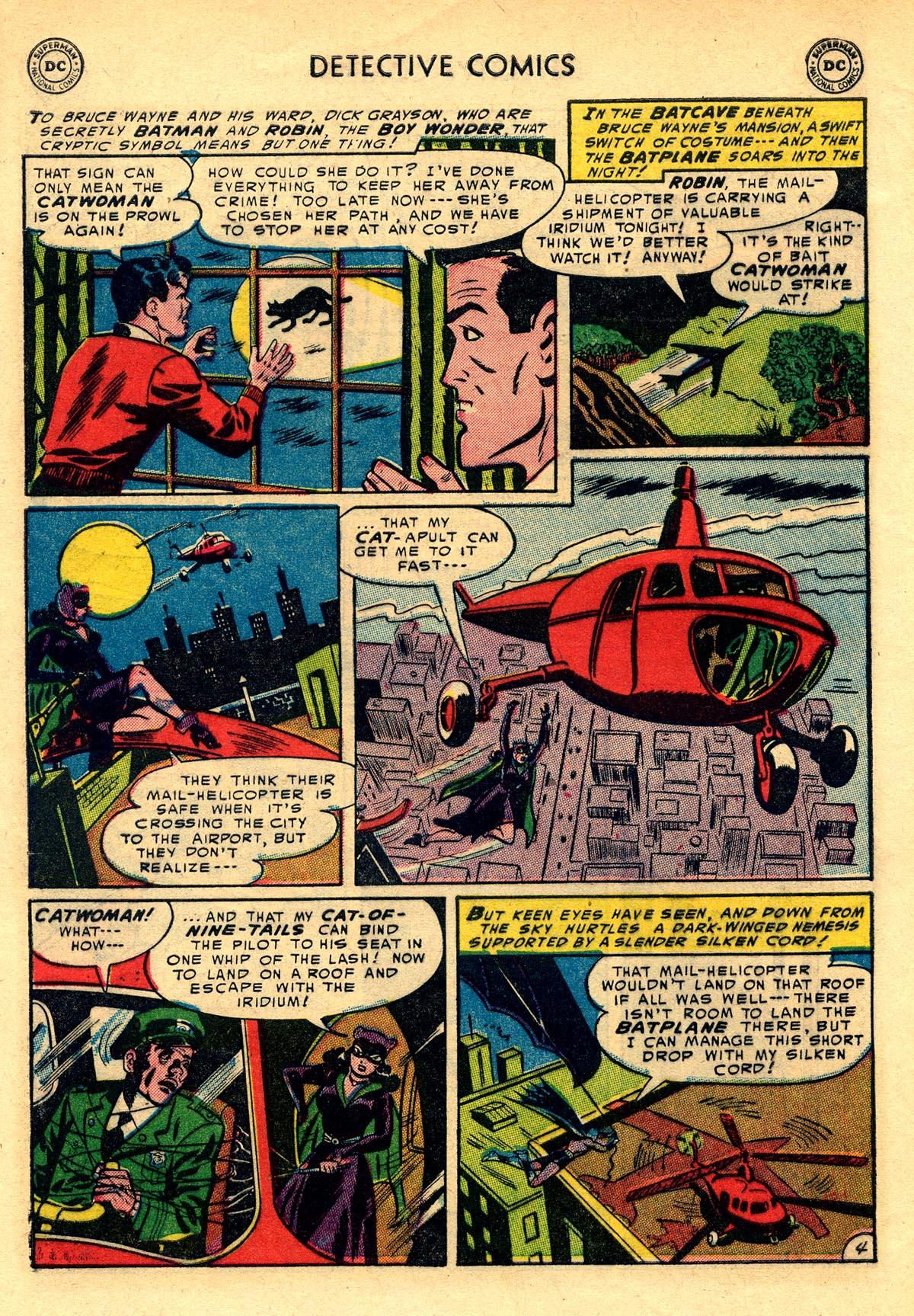 Read online Detective Comics (1937) comic -  Issue #203 - 6