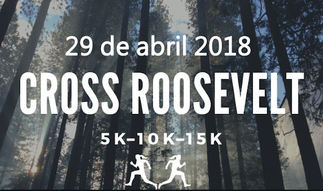 5k 10k y 15k Laura´s distance project (cross en parque Roosevelt, 29/abr/2018)