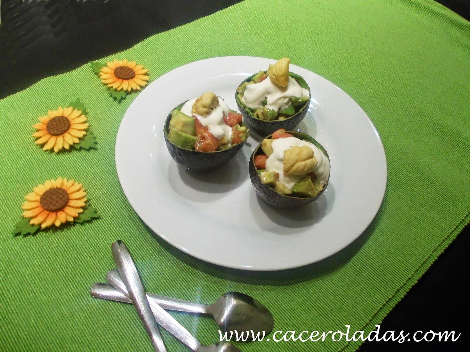 receta de ensalada de aguacate